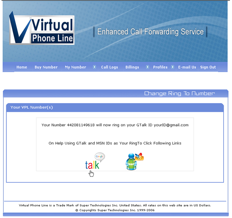 Here is the Eight Steps Method to take Free Virtual Phone